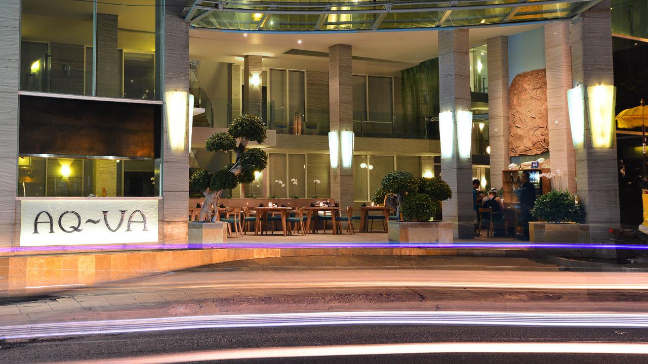 Aq Va Hotel Bali Spagym